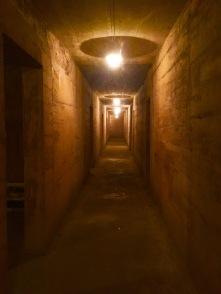 Interior da Caverna hospital.