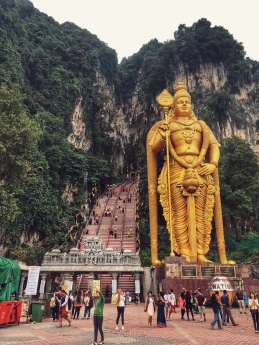 Batu caves - God of War - Murugan (hindu/ indiano)