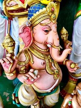 Lorde Ganesh - Templo Sri Mahamariamman (hindu / indiano)