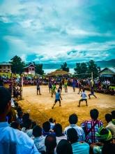 Volleyball match - PhomGiy's Birthday.